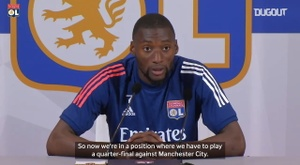 Toko Ekambi thinks Lyon will win. DUGOUT