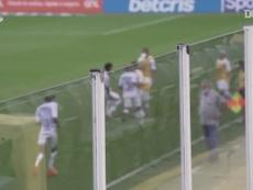 Santos beat Internacional 2-0 in the Brazilian League on Saturday. DUGOUT
