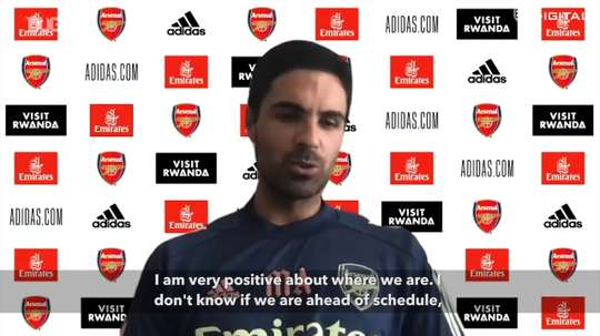 Arteta previewed the season. DUGOUT