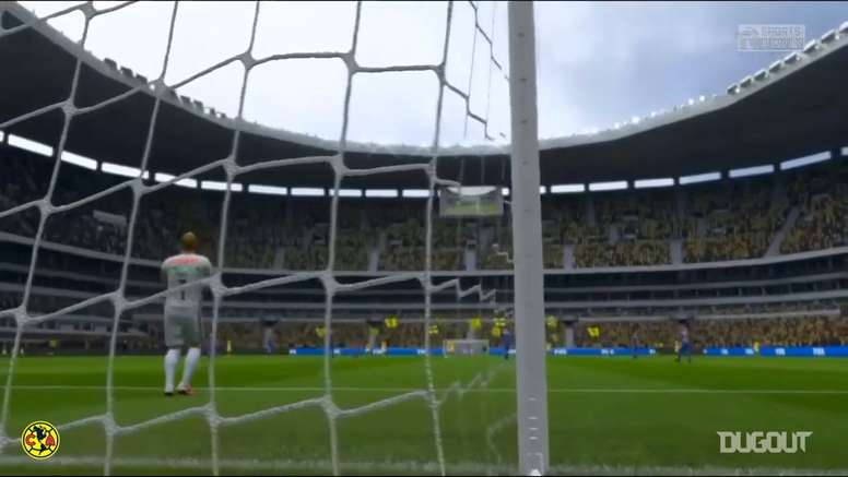 Club America and Tigres faced off in eSports. DUGOUT