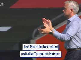 Mourinho has helped Spurs. DUGOUT