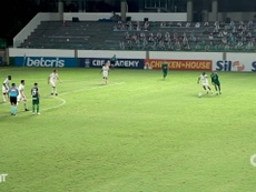 Goias beat Palmeiras 1-0 in the Brasileirao on Saturday night. DUGOUT