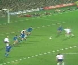 Le triplé de Charlie George contre le Real Madrid en 1975. DUGOUT