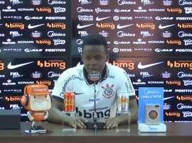 Juan Cazares já treina com o time do Corinthians. DUGOUT