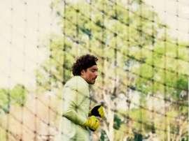 Ochoa returned to training. DUGOUT