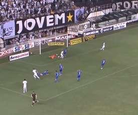 Gabigol se revitalizó para el fútbol en Santos. DUGOUT
