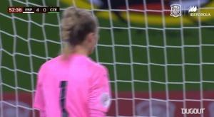 Alexia Putellas's superb volley goal for Spain. DUGOUT