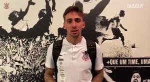 Vital e Gustavo Mosquito comemoram vitória contra Palmeiras. DUGOUT