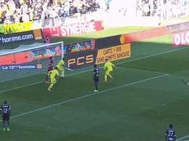 Gol de Nakoulma. DUGOUT