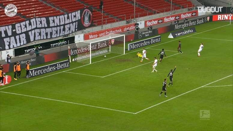 Lewandoski scored. DUGOUT