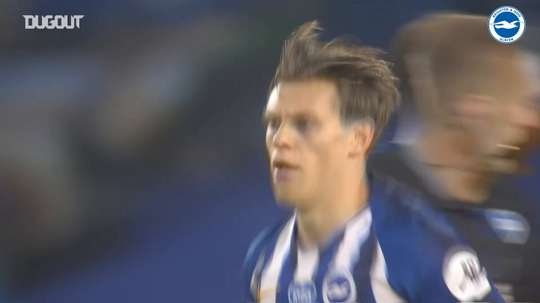 Trossard scored a stunner in Brighton's loss to Liverpool. DUGOUT