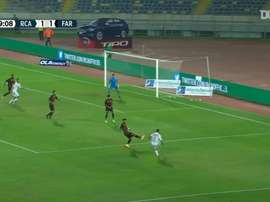 Abdelilah Hafidi's last minute goal against ASFAR. DUGOUT