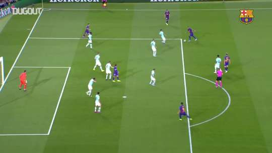 Barcelona foi o líder do Grupo F na Champions League. DUGOUT