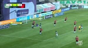 Palmeiras ran out easy winners over Athletico PR at Allianz Parque. DUGOUT