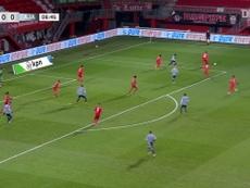 Le premier but de Sébastien Haller avec l'Ajax.dugout