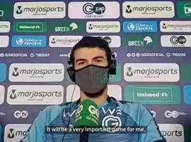 Luiz Gustavo spoke ahead of the match. DUGOUT