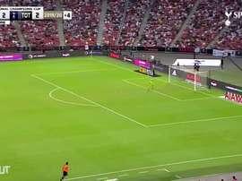 Le but incroyable de Kane contre la Juventus. DUGOUT