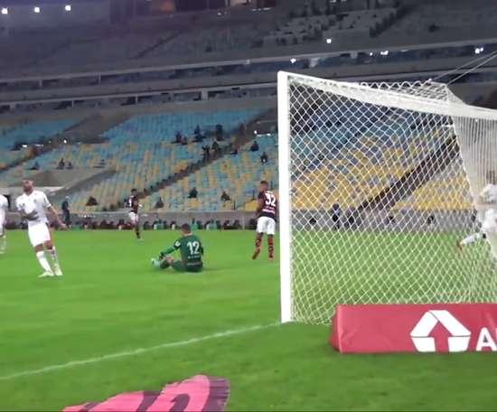 Pedro Rocha marca primeiro gol com a camisa do Flamengo. DUGOUT