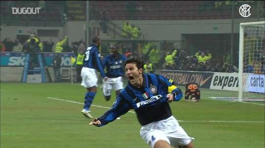 Javier Zanetti e seus momentos incríveis pela Inter de Milão. DUGOUT
