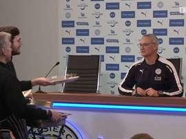 Esta rueda de prensa de Ranieri fue sencillamente hilarante. Dugout
