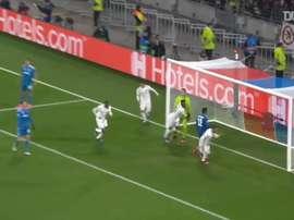 Il gol di Tousart contro la Juve. Dugout
