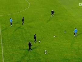 VIDÉO: Leipzig prépare son match contre İstanbul Başakşehir. Dugout