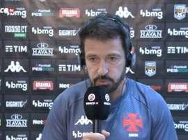 Ramon comentou sobre a vitória do Vasco contra o Sport na estreia do Brasileirão. DUGOUT