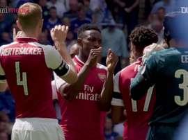 Quand Arsenal fêtait le Community Shield en 2017. Dugout