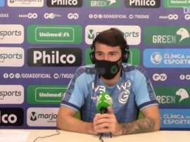 Luiz Gustavo analisa estreia do Goiás contra o São Paulo no Brasileirão. DUGOUT
