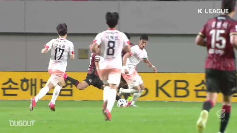 Ulsan Hyundai lidera o campeonato da Coreia do Sul após 15 rodadas. DUGOUT