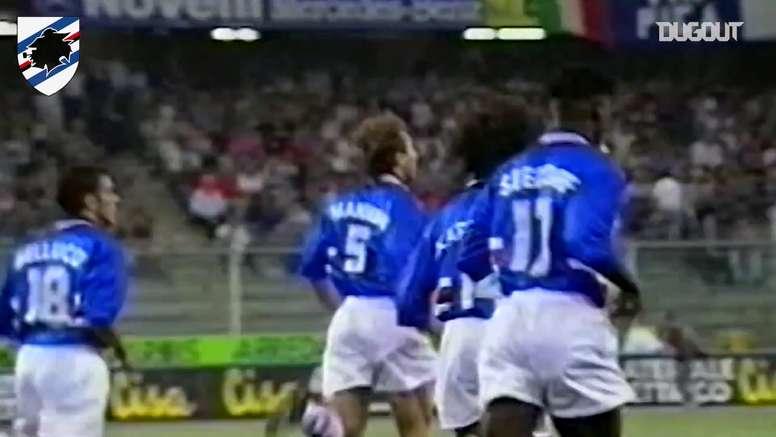 La leggenda di Seedorf. Dugout