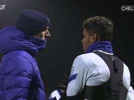 Tuchel llegó y ya entrenó al Chelsea. DUGOUT