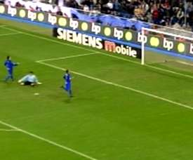 Michael Owen scored for RM in their first ever meeting with Getafe. DUGOUT