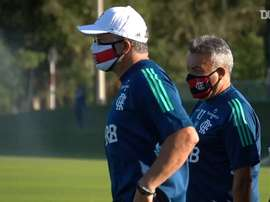 Primeiro treino de Domènec Torrent no Flamengo. DUGOUT