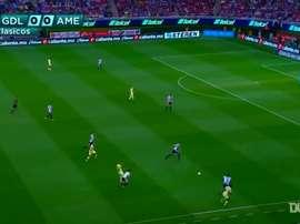 VÍDEO: cuando Nicolás Castillo deslumbró con este gol ante Chivas. DUGOUT