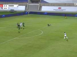 Sharjah and Shabab Al-Ahli shared the points. DUGOUT