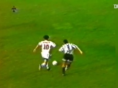 Álvaro Recoba anotó un golazo ante Wanderers. DUGOUT