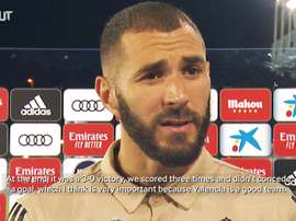 Benzema speaks out after stunning performance. DUGOUT