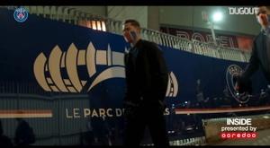 La victoire 4-0 du PSG face à Dijon en inside. Dugout