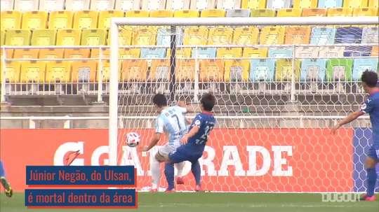 Júnior Negão e Cesinha são destaque no futebol sul-coreano. DUGOUT