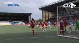Man City Women beat Liverpool Women. DUGOUT