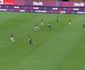 L'incroyable but d'Adrien Rabiot contre l'AC Milan. DUGOUT