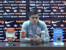Fagner falou sobre o clássico do domingo em casa contra o Flamengo. DUGOUT