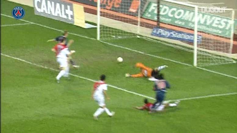 Ronaldinho scored a screamer. DUGOUT
