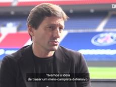 Leonardo falou sobre os defensores brasileiros de confiança no clube. dUGOUT
