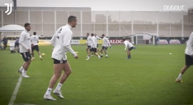 Training Center | Building up to Lazio. DUGOUT