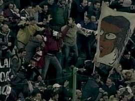 Le but somptueux de Di Vaio contre le Milan AC. DUGOUT