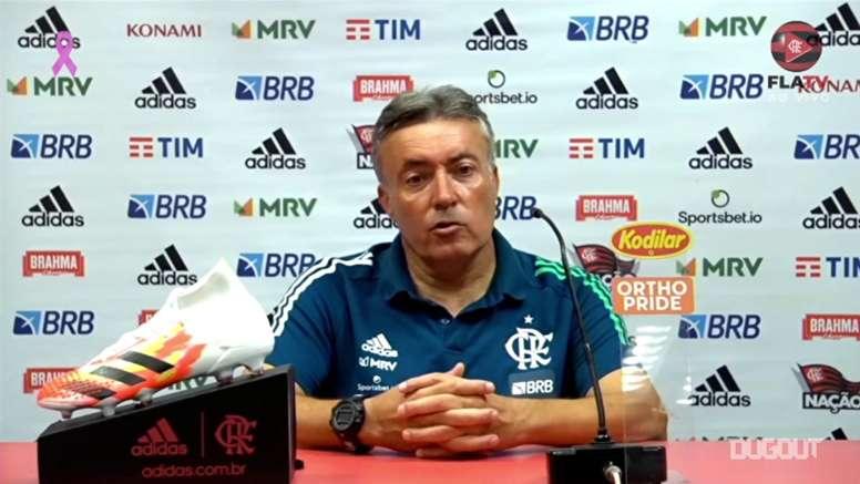 Dome enaltece força do elenco do Flamengo. DUGOUT
