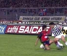 Melhores momentos de Roberto Baggio pela Juventus. DUGOUT