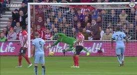 Gols do Manchester City contra o Southampton. DUGOUT